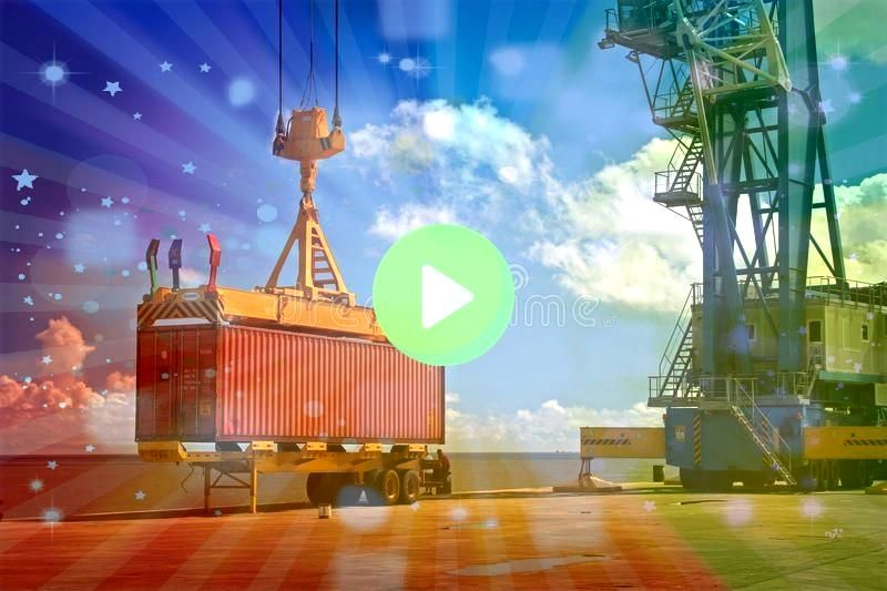 container Industrial Crane lifts a container Crane container Industrial Crane lifts a container  Quality crane manufacturer of all types Freedom of the Seas  Exhilaration...