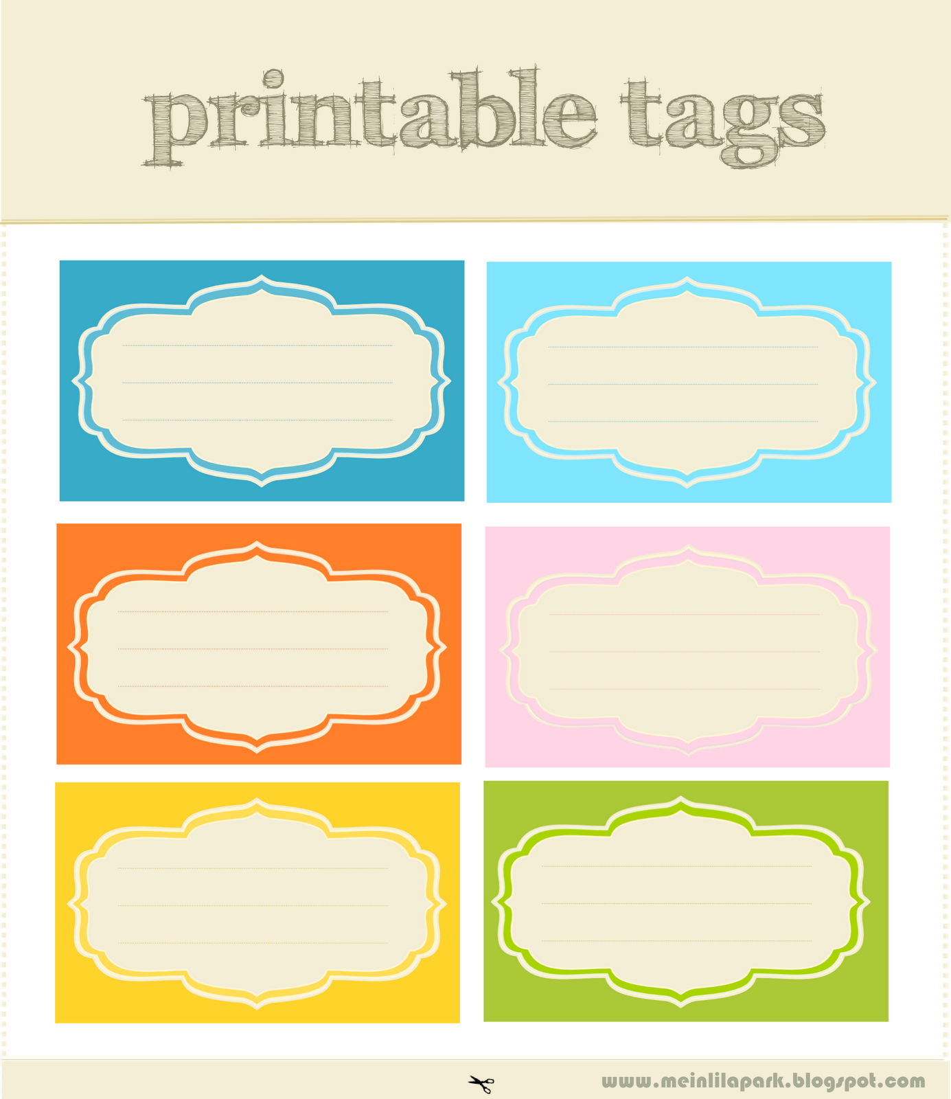 Free Printable Tags And Labels Love Rge Designs And