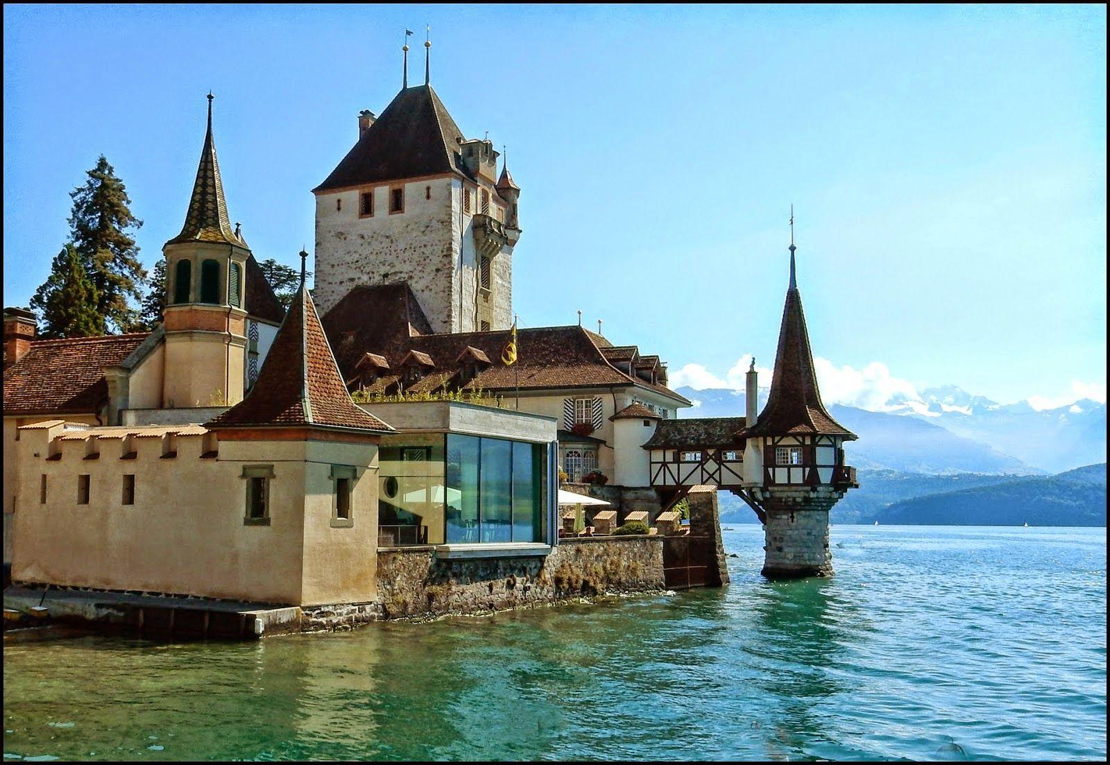 The Fairy Tale Castles Of Switzerland Fairytale Castle Castle