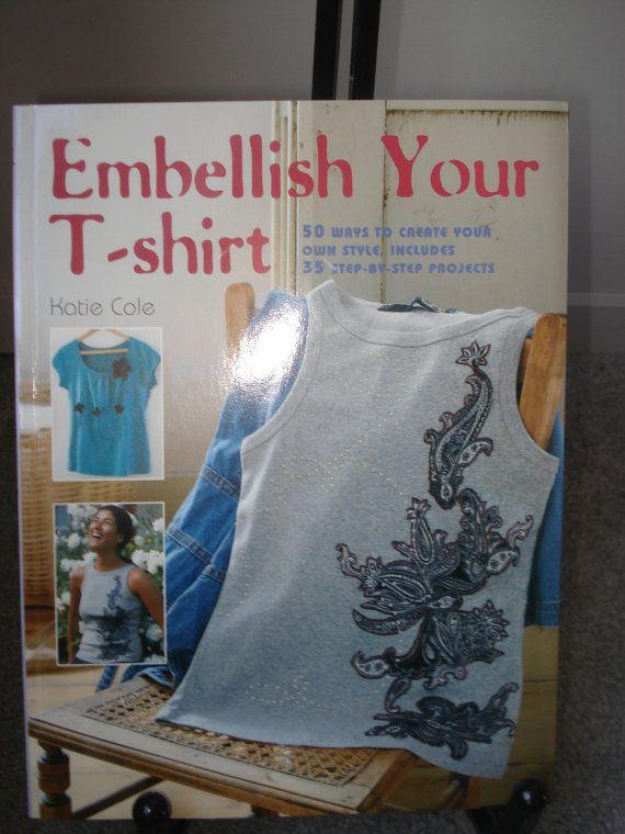 T-Shirt Embellishing Idea Book by SewcialStudies101 on Etsy
