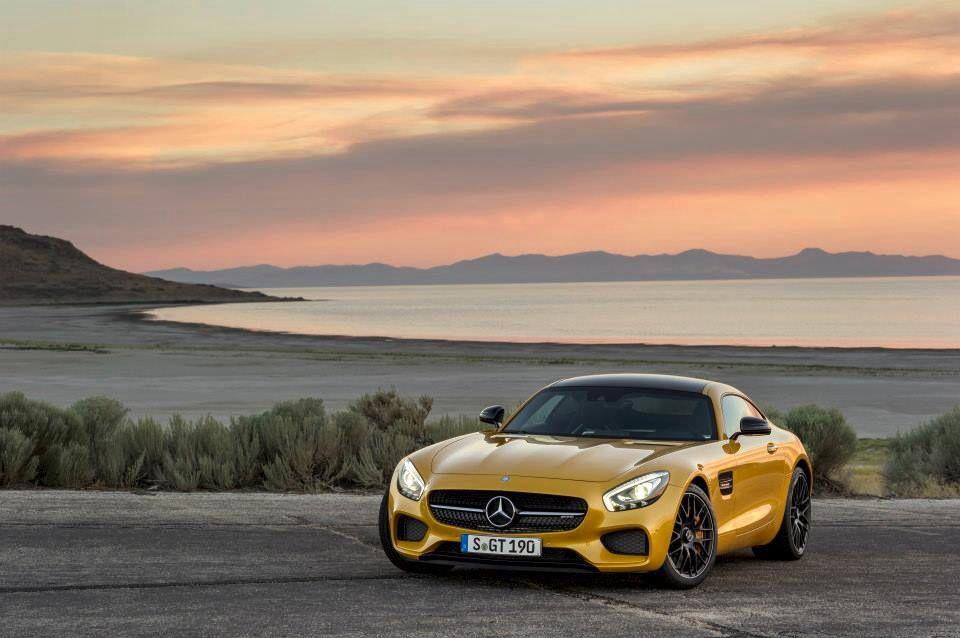 New Mercedes AMG GT