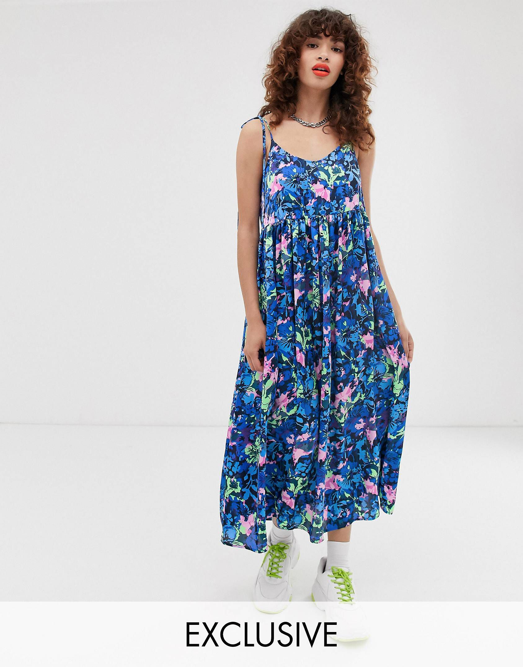 6d1ac0ade34e Browse online for the newest COLLUSION cami oversize smock dress styles.  Shop easier with ASOS' multiple payments and return options (Ts&Cs apply).