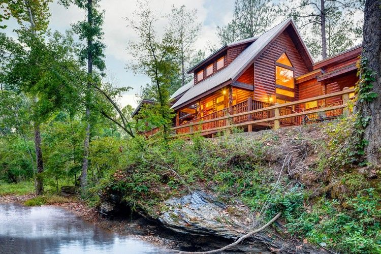 Mccurtaincounty Tranquility Trails Escape To One And A Half Acres Of Peace And Quiet At Tranquility Trails Cabin Enjoy V Broken Bow Broken Bow Cabins Cabin