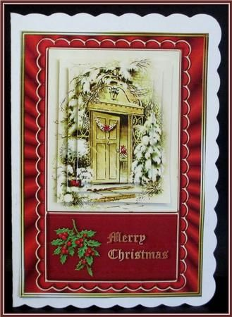 From Our House To Yours Pyramid Stacker Card On Craftsuprint