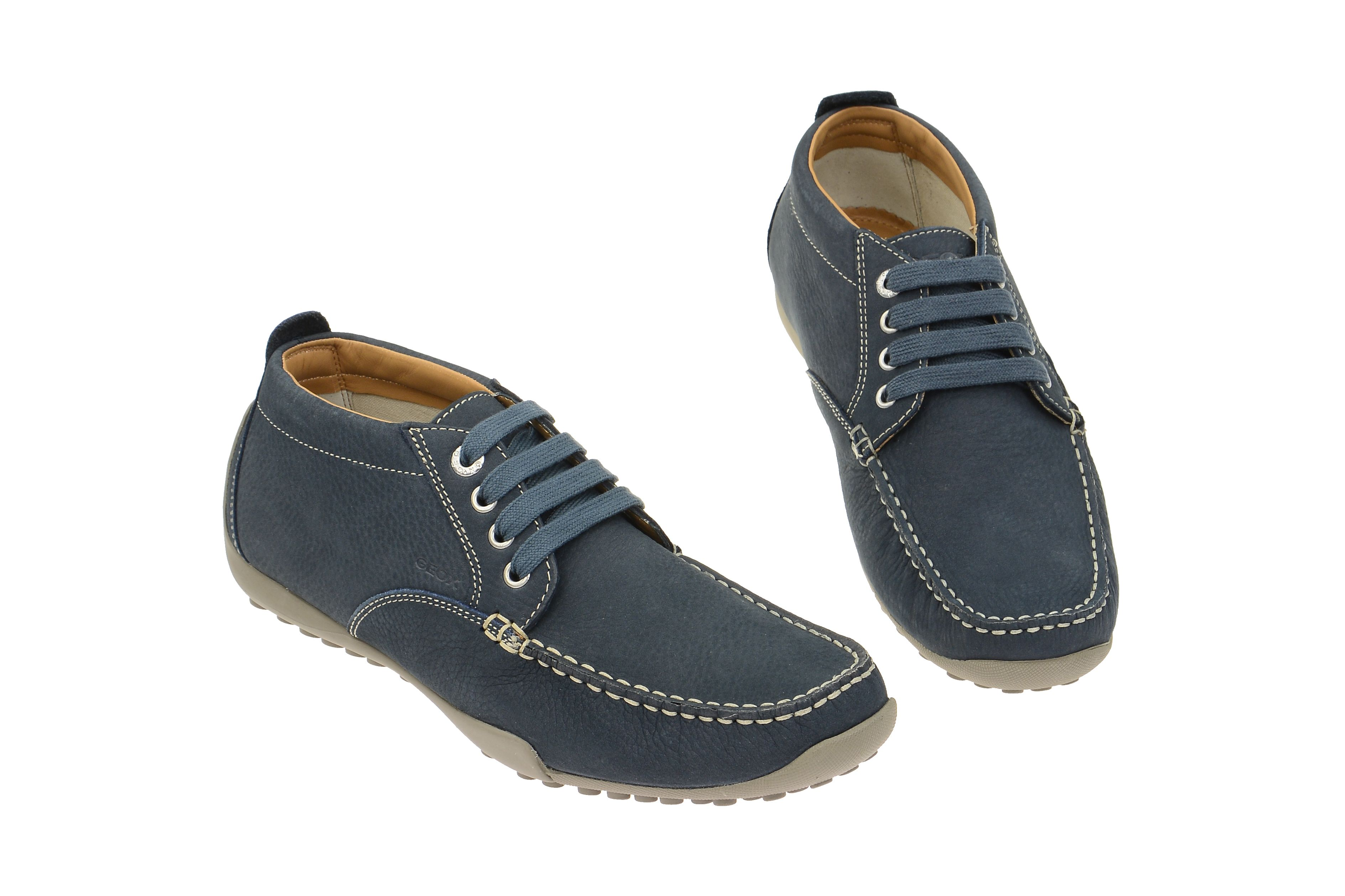 Die eleganteste Damen Schuhe GEOX Slipper NEBULA grau Leder