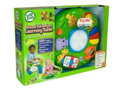 Animal Adventure Learning Table Leapfrog Animal Learning