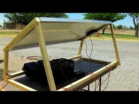 How to make a standalone solar power setup with REAL panel *fast*. Includes solar panel mount construction. Cost is $600. All parts priced *retail*. & How to make a standalone solar power setup with REAL panel *fast ...