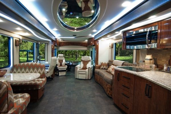 10 Most Expensive Luxury Motorhomes Luxury Car Interior Rv