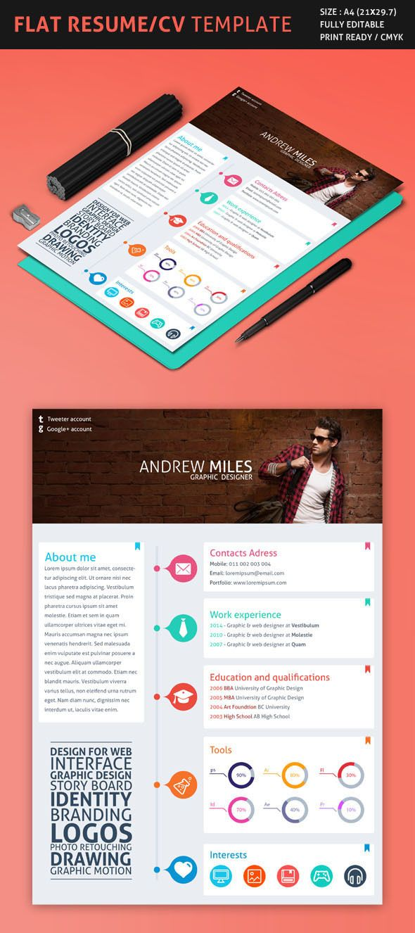 Pin By Laurie On Resumes Portfolios Resume Design Template Cv Template Best Resume Template