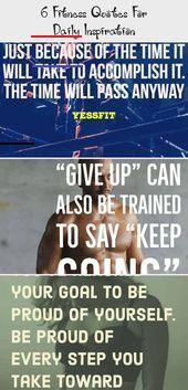 6 Fitness Quotes For Daily Inspiration - Pinokyo  6 Fitness Quotes For Daily Inspiration | Motivatio...