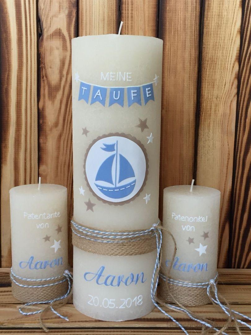 Individuelle Kerzengestaltung Taufe Zur Taufe Taufkerze Lebensbaum