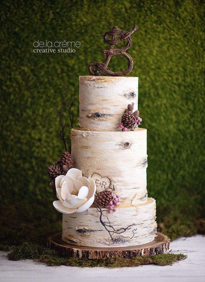 Latest Wedding Cakes By De La Cr 232 Me Creative Studio Tree