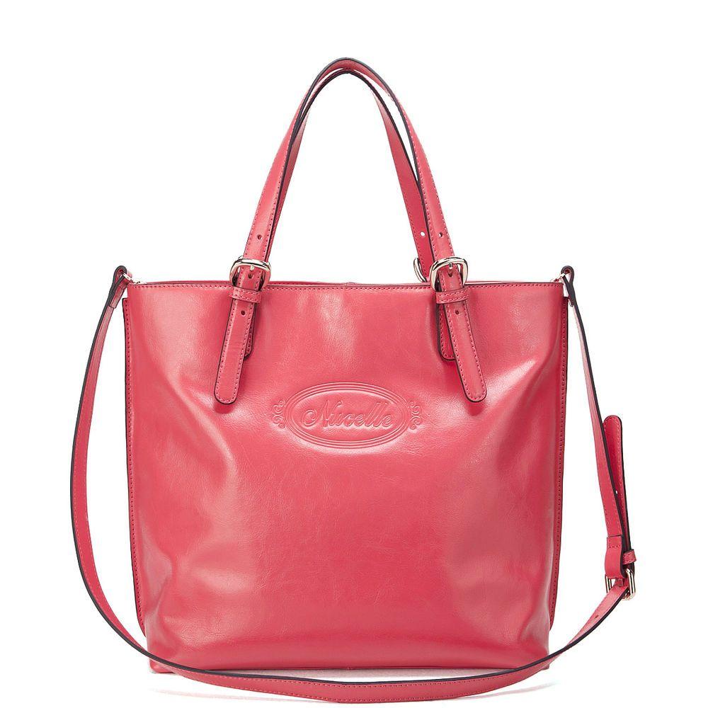 cac27bf95afa9 Damentaschen Schultertaschen Handtaschen echtes Leder Tasche Rosa A10031