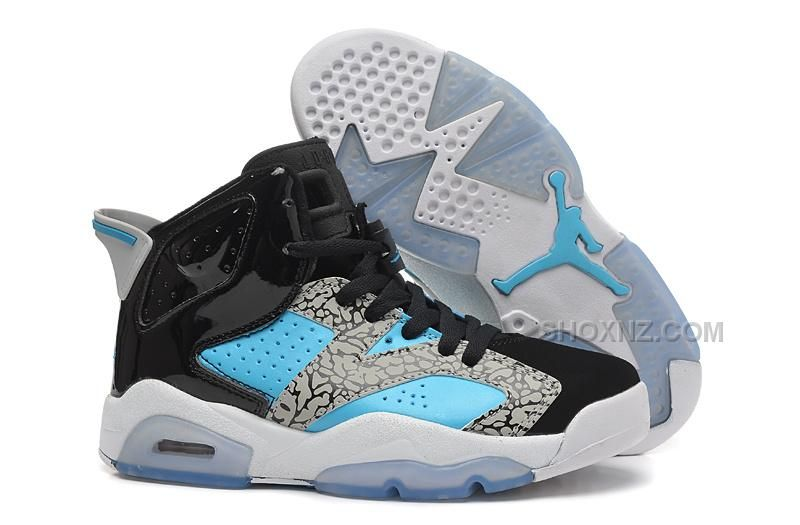 "Vind Girls Air Jordan 6 Retro ""Leopard Print"" Black Blue White For Sale  online of in Jordany. Shop Top Brands en de nieuwste stijlen Girls Air  Jordan 6 ..."