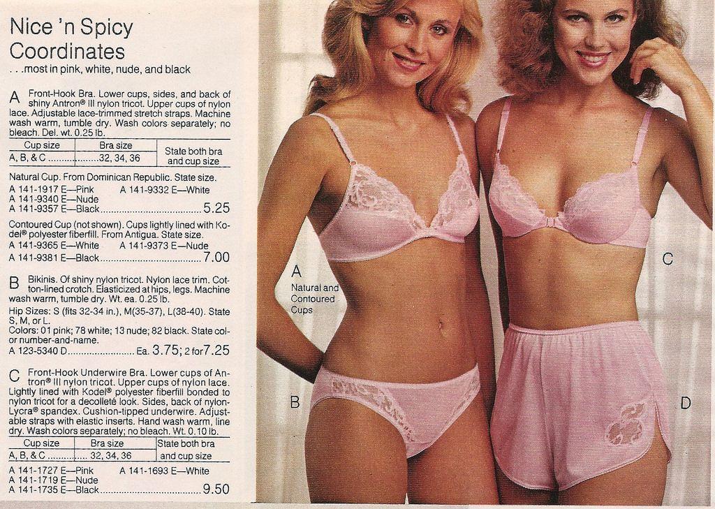Retrospace: Catalogs #45: Bra + Panties (Part 1)