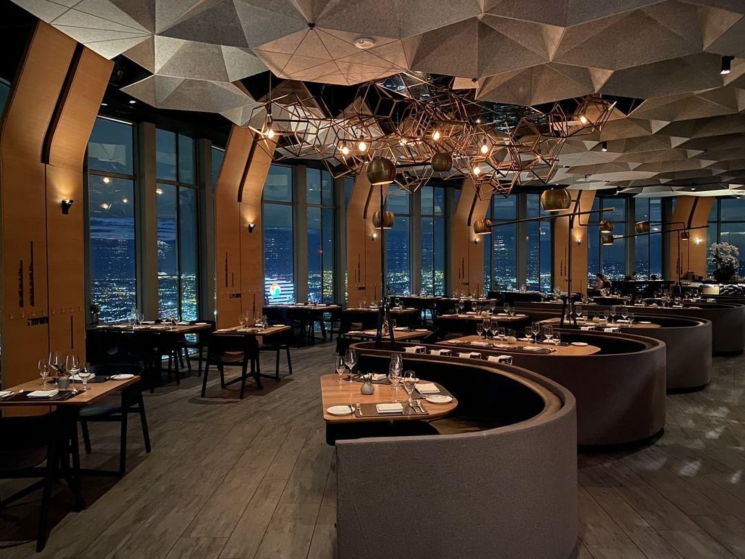 Catch La West Hollywood Ca Rooftop Dining Elegant Restaurants Los Angeles Restaurants