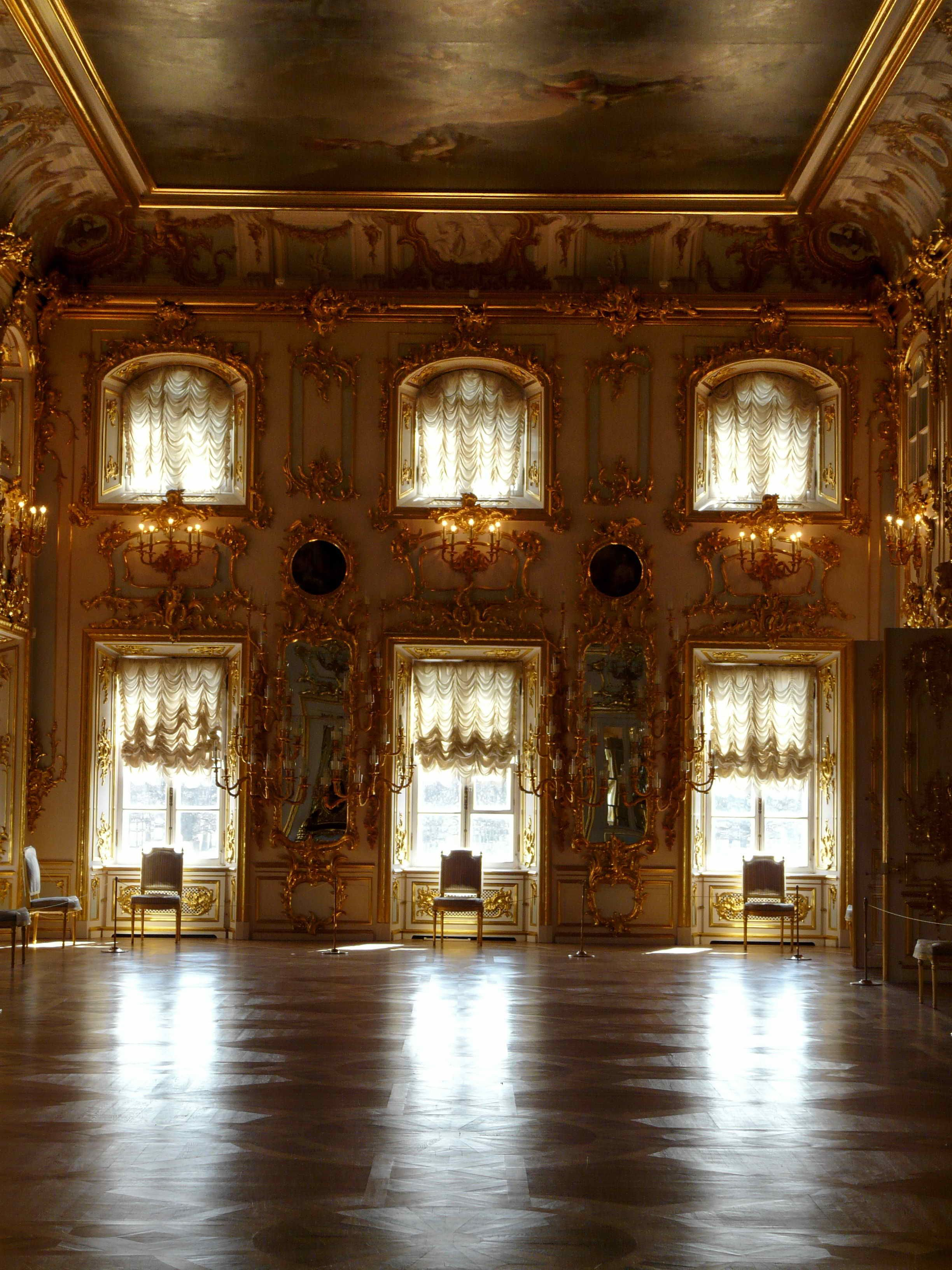 Interior of the Peterhof Palace