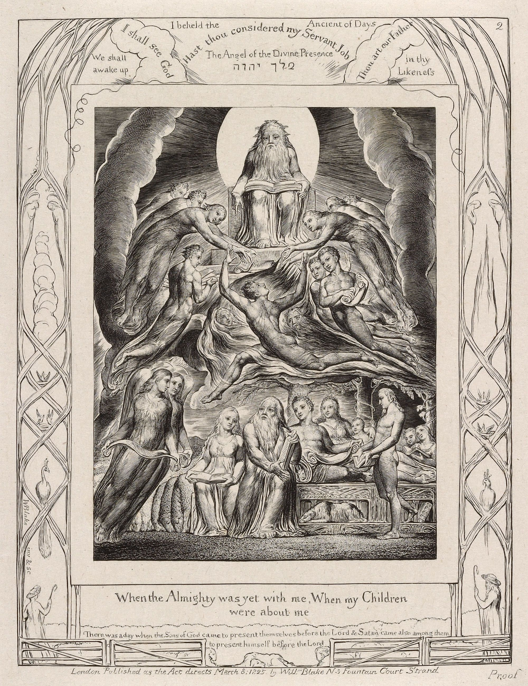 Illustrations of the book of job book of job william