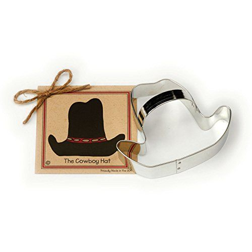 Handcrafted by The Fussy Pup Cowboy Hat Cookie Cutter
