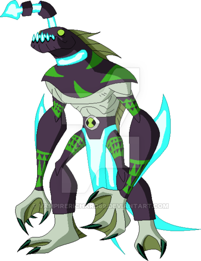 Ben 10 Omni Enhanced Ripjaws By Vampirerichard69 Deviantart Com On Deviantart Ben 10 Concept Art Characters Ben 10 Alien Force