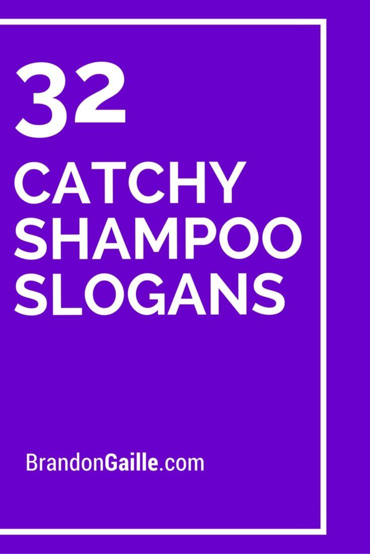 32 Catchy Shampoo Slogans