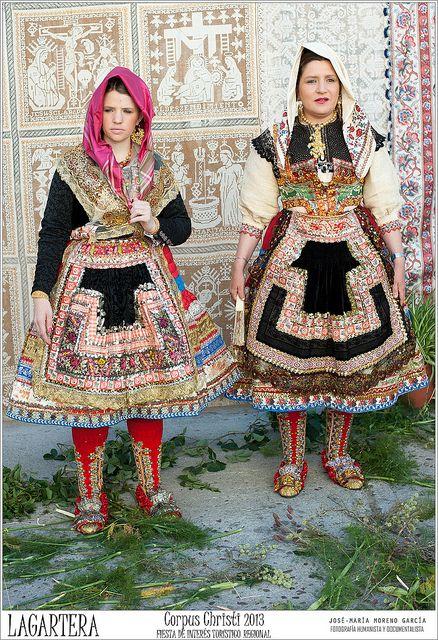 Lagartera Corpus Christi 2013 Pinterest Traditional Clothes