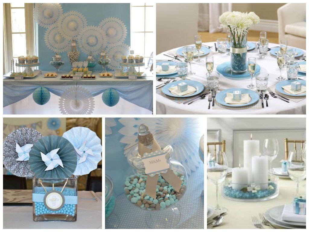 Ideas para decorar una primera comunion en azul - Decoracion fiesta comunion ...