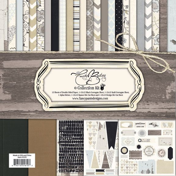 Fancy Pants Designs Country Boutique Collection 12 X 12 Paper Kit Country Boutique Fancy Pants Boutique Collection