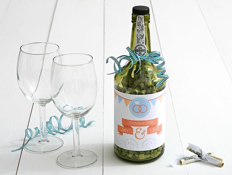 Upcycled Wine Bottle Wedding Diy 7 Creative Ways To Gift Cash