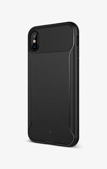 official photos d7b2b fb4d1 iPhone X Case Nero Slim - Black   Loveglove   Tempered glass screen ...