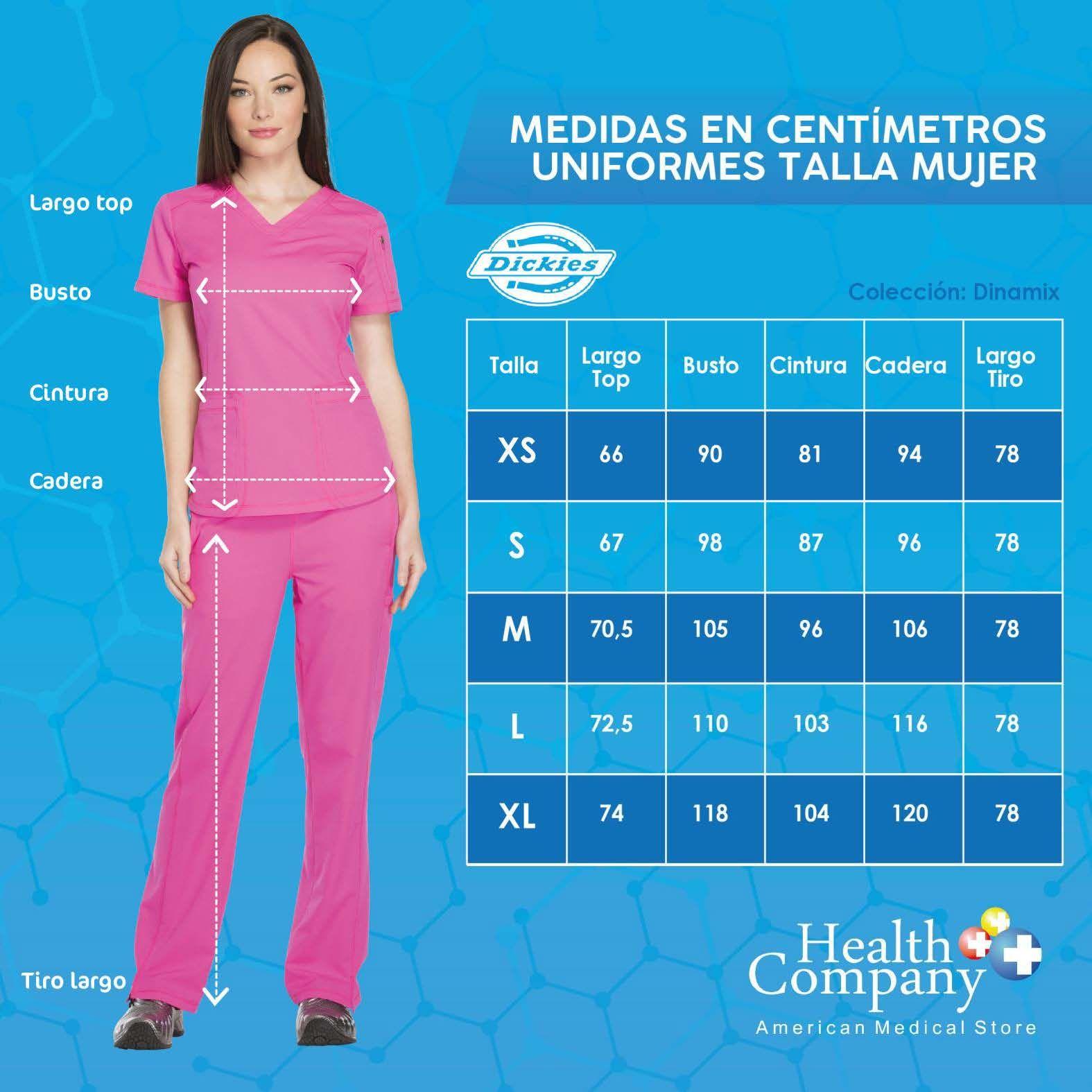 Top Uniforme Medico Mujer Unicolor Dickies Dk730 Tlb Health Company Uniformes Medicos Uniformes De Enfermeria Patrones Gratis De Costura