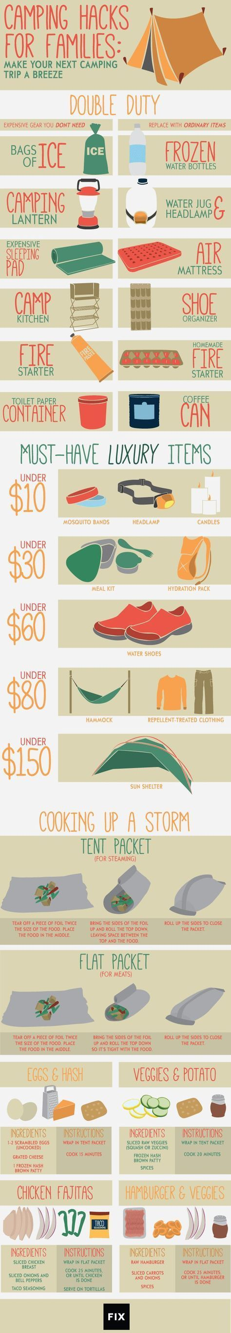Photo of Follow these fun camping hacks to save time, space, and money on your next famil…