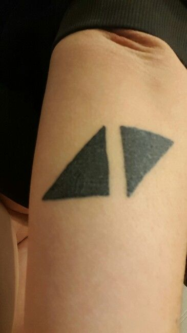 My Avicii tattoo is my favorite, because I've been to he ...