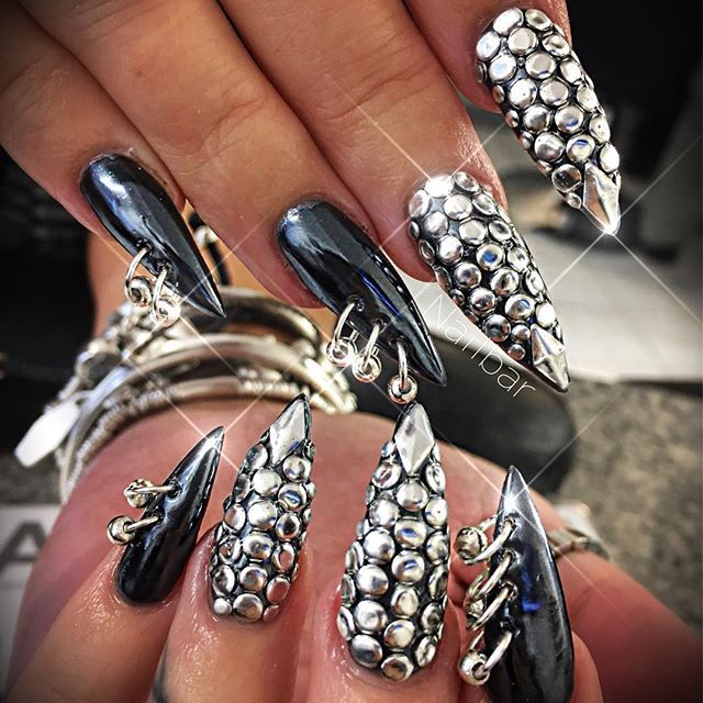 Theodora nails pinterest nail nail gothic nails theodora prinsesfo Image collections