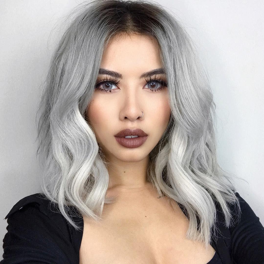 40 Silver Hair Color Ideas Trends Highlights Styles And More Silver Hair Color Blending Gray Hair Silver Hair Highlights