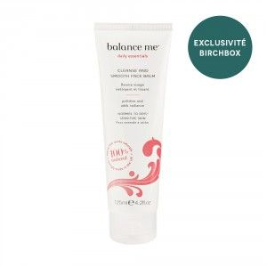 Balance Me - Cleanse & Smooth Face Balm - Birchbox