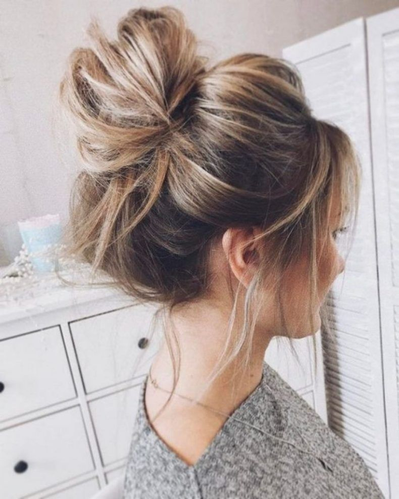 20 Lazy Day Hairstyles That Are Quick And Cute AF | Messy ...