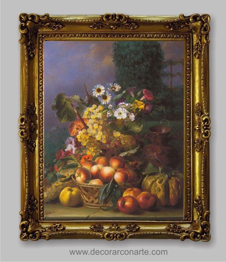 Resultado de imagen para cuadros con marcos dorados antiguos con paisajes marcos marcos - Marcos clasicos para cuadros ...