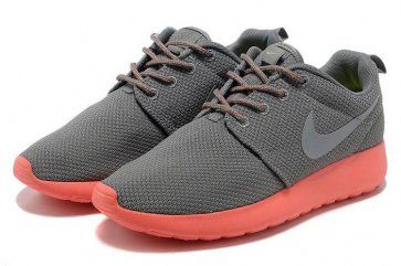 quality design 81f1f e0654 Nike Roshe Run Womens Light Gray Red Mesh Shoes | Funny | Nike shoes ...