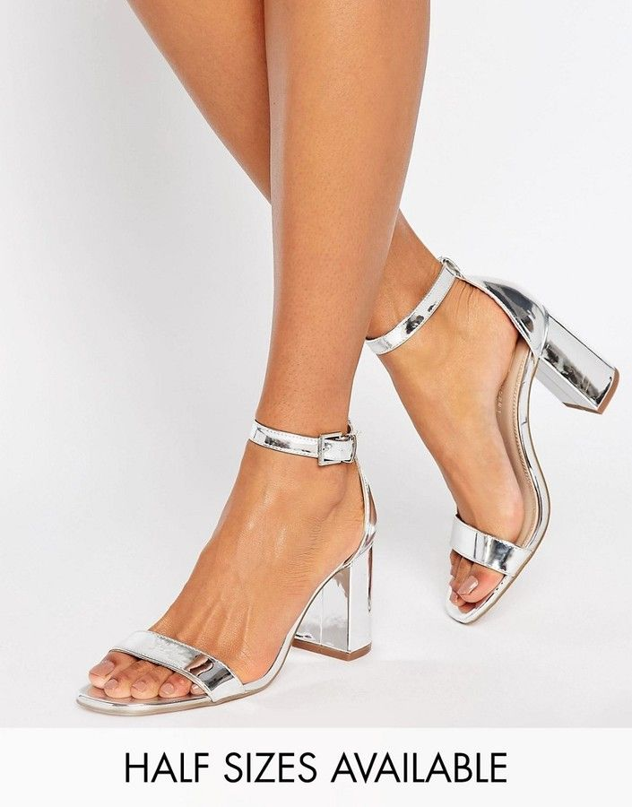 66879e7ee7c ASOS HAYDEN Block Heeled Sandals