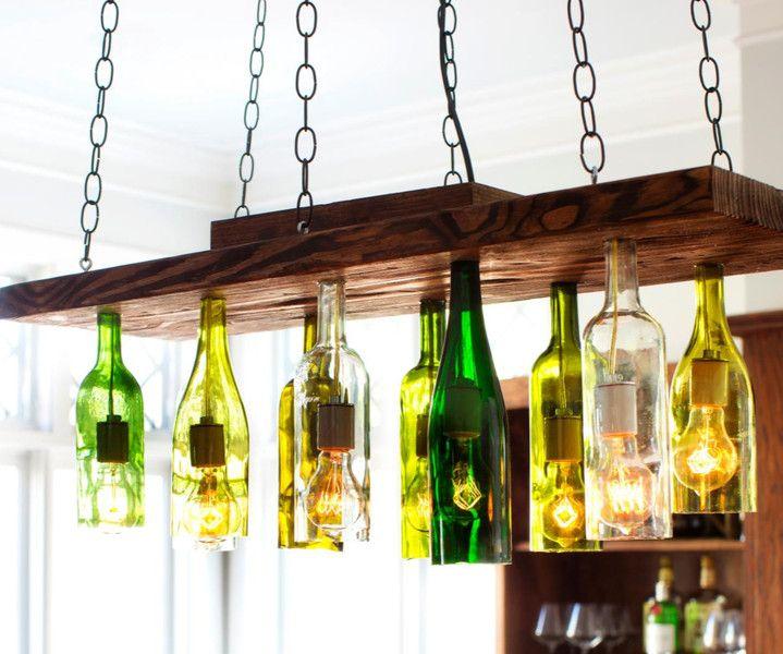 lampen kerzen recycling deckenleuchte lampe ein designerst ck von wunschmacher bei. Black Bedroom Furniture Sets. Home Design Ideas