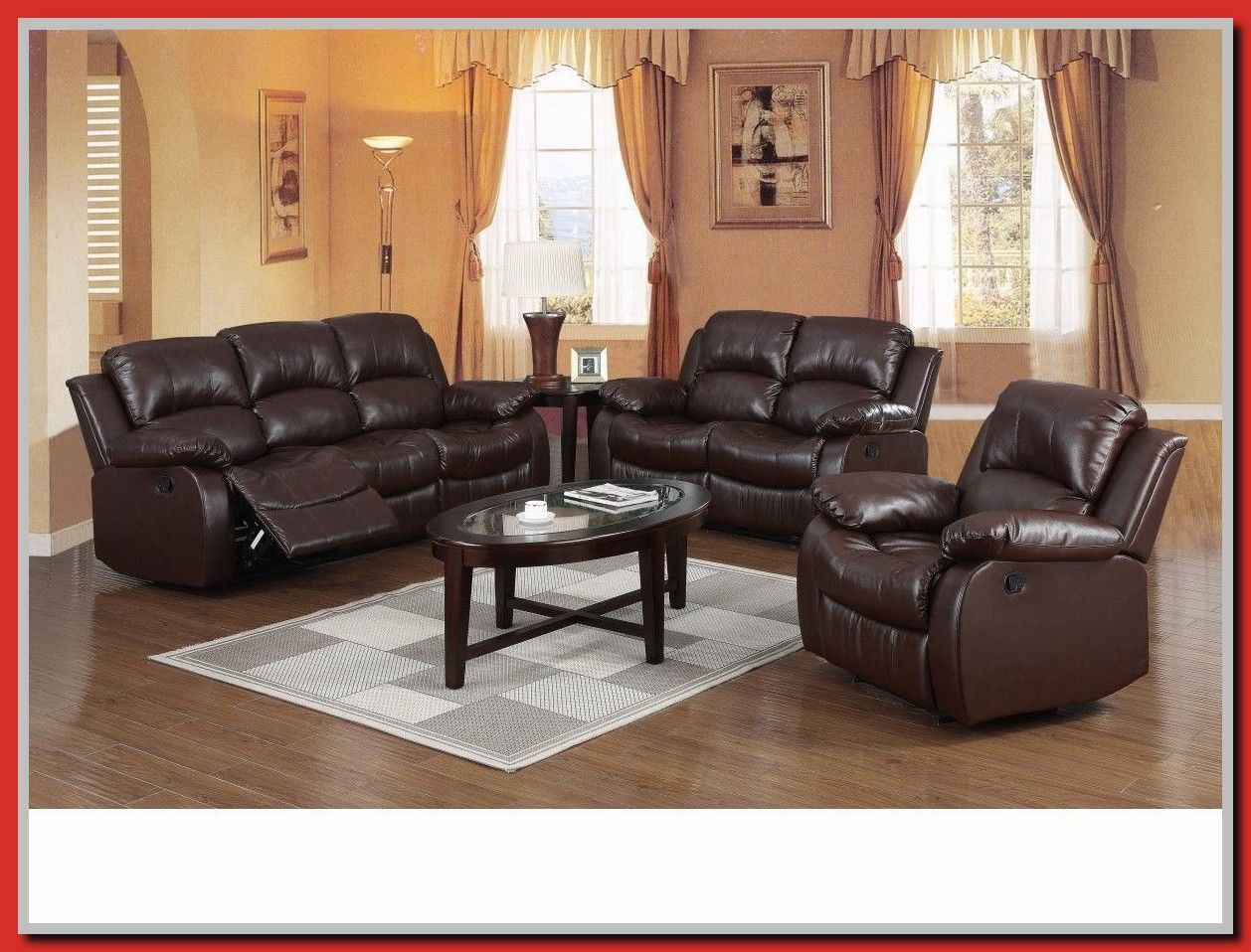 65 Reference Of Recliner Sofa Suite Brown Leather 3 2 Seater In 2020 Contemporary Home Office Furniture Reclining Sofa Sofa Suites