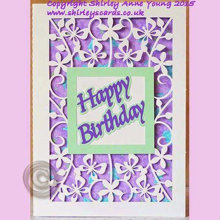 Shirley S Cards Free Cricut Birthday Cards Cricut Cards