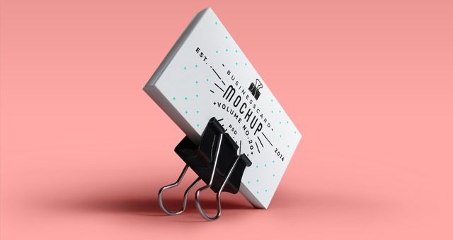 Creative Psd Business Card Mock Up To Showcase Your Artwork