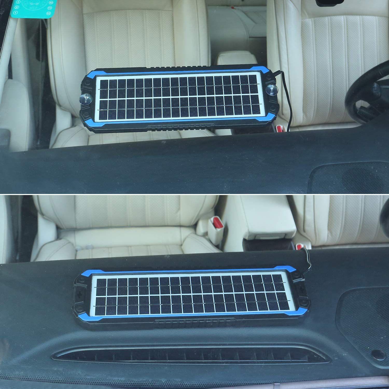 Suner Power 12v Solar Car Battery Charger Car Battery Charger Solar Car Battery Charger