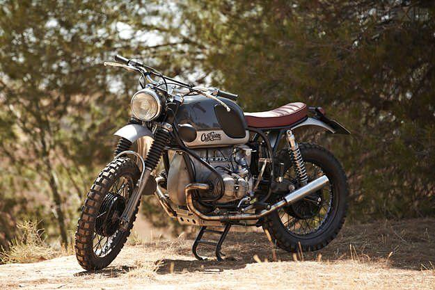 Retro Scrambler A Vintage Bmw R75 5 From Spain Custom Bikes
