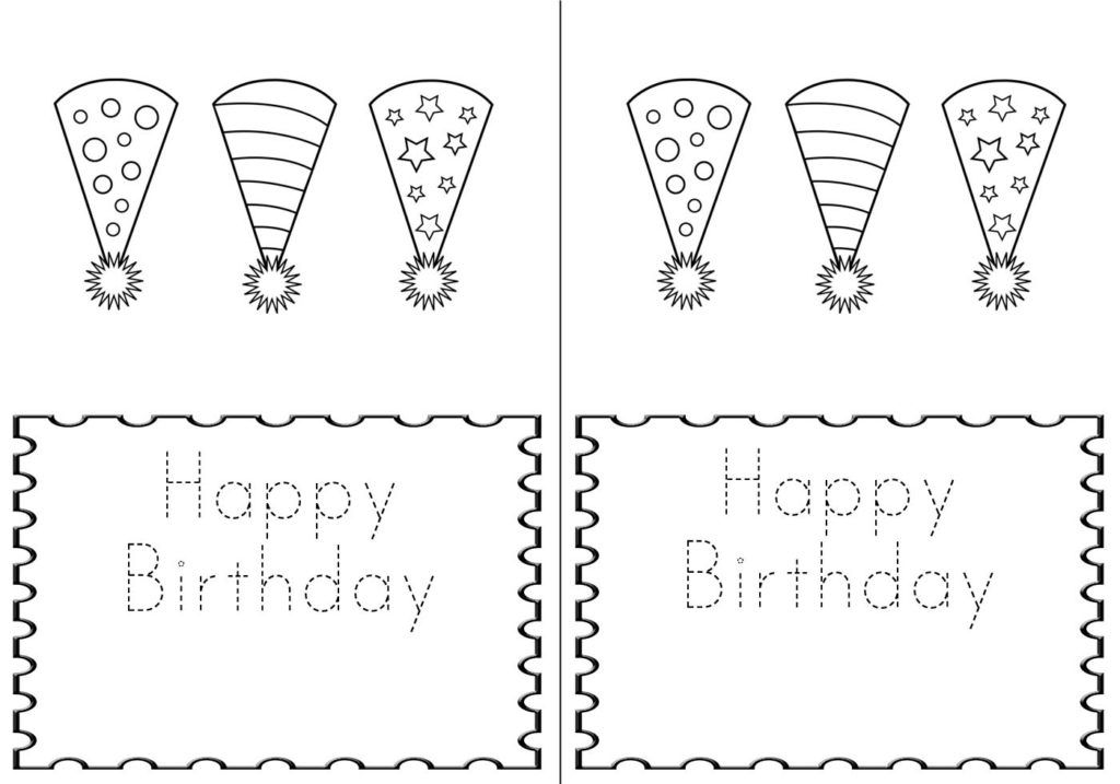 Free Printable Birthday Cards For Kids Happy Birthday To You