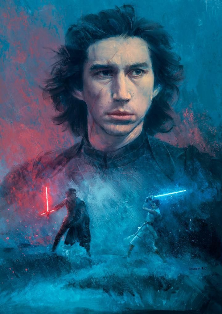 The Duel - Star Wars Art - 24\ x 17\ / Stretched