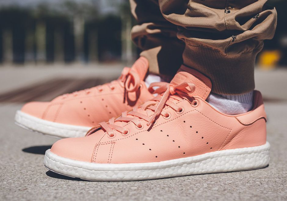 8fc1126477640d  sneakers  news The adidas Stan Smith Boost Joins In On The Pink Sneaker  Craze