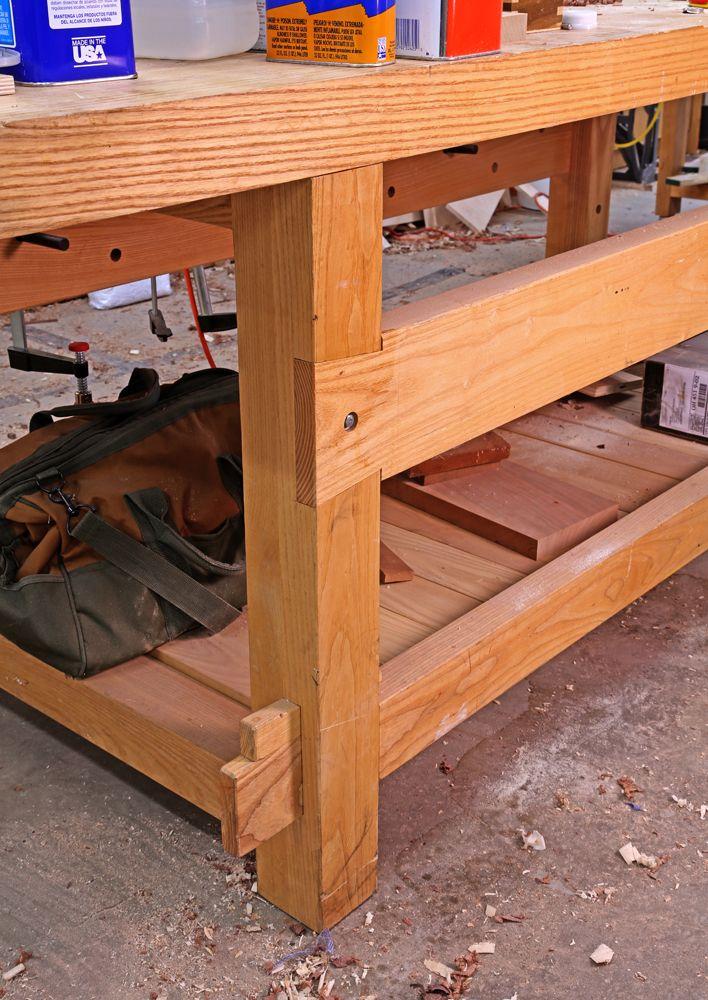 Pleasing 21St Century Workbench Leg Joints Woodshop Workbench Pdpeps Interior Chair Design Pdpepsorg